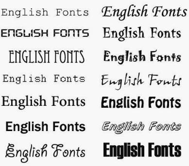 تحميل خطوط انجليزية رسمية 2018